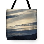 Shasta Trinity National Forest Sunrise Tote Bag