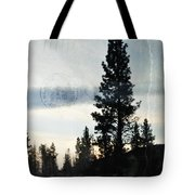 Shasta Trinity National Forest Sunrise Portrait Tote Bag