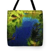 Shasta's Still Waters Tote Bag