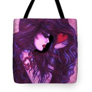 Shattered Abstract Tote Bag