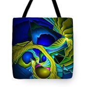 Shattered Visions. Tote Bag