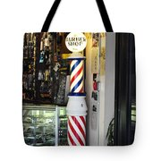 Shave And A Haircut Tote Bag