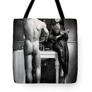 Shaving Tote Bag