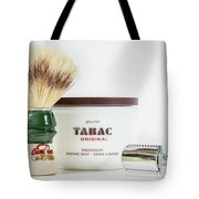 Shaving Set Tote Bag by Gary Gillette