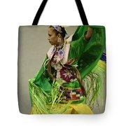 Pow Wow Shawl Dancer 3 Tote Bag