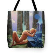She And I Tote Bag