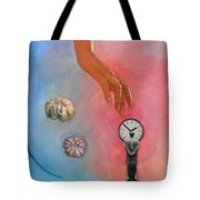 She Came From Above Tote Bag