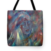 She Dreams In Color Tote Bag