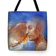 She Dreams Of The Sea Tote Bag