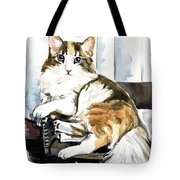 She Has Got The Look - Cat Portrait Tote Bag