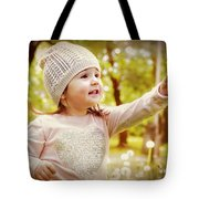 She Picked A Flower For You Tote Bag
