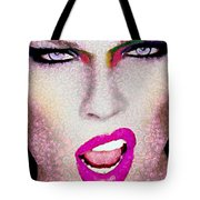She Sings Vegged Out Tote Bag