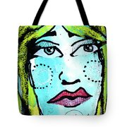 She Was A Handsome Woman Tote Bag