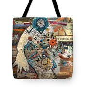 She Was Headed For Greatness Tote Bag
