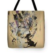 She Walks With A Purple Unicorn Tote Bag