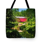 Sheards Mill Bridge - Nockamixon Pa Tote Bag