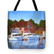 Sheboygan River Marina Tote Bag