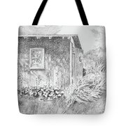 Shed In My Mothers Back Yard Tote Bag