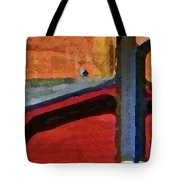 Sheds Abstract Tote Bag