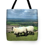 Sheep At Westbury Tor Tote Bag