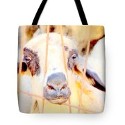 I Think They Want To Eat Me So Please Come And Release Me At Once  Tote Bag by Hilde Widerberg