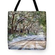 Sheep Farm - Snow Tote Bag
