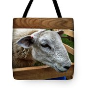 Sheep Four Tote Bag