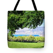 Sheep In The Shade Tote Bag