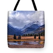 Sheep Lakes Autumn Tote Bag