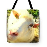 So Sheep Of You To Leave Me Here  Tote Bag