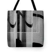 Sheer Starkness Tote Bag