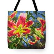 Sheherazade Lilies 1 Tote Bag