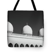 Sheikh Zayed White Mosque Tote Bag
