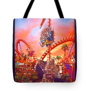 Sheikra Ride Poster 3 Tote Bag