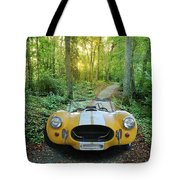 Shelby Ac Cobra In The Woods Tote Bag