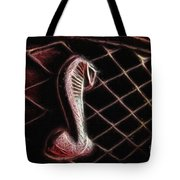 Shelby Cobra Grill Logo Tote Bag