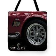 Shelby Cobra Sports Car Tote Bag