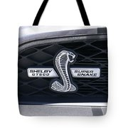 Shelby Gt 500 Super Snake Tote Bag