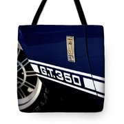 Shelby Mustang G T 350 Cobra Tote Bag