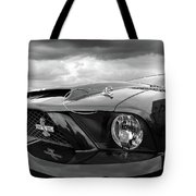 Shelby Super Snake Mustang Grille And Headlight Tote Bag