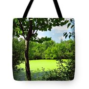 Sheldon Marsh Algae Pond Tote Bag