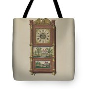 Shelf Clock Tote Bag