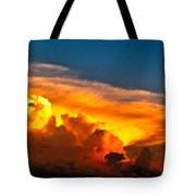 Shelf Cloud 01 Tote Bag