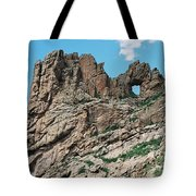 Shelf Road Rock Formations Tote Bag