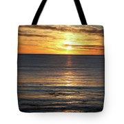 Shell Beach Sunset Tote Bag