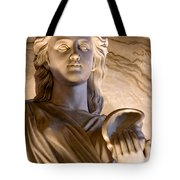 Shell In Hand Tote Bag