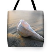 Shell On The Beach Tote Bag