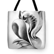 Shell-shaped Buiding From The Land Of Absurd Tote Bag