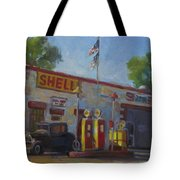 Shell Station Brown County Tote Bag