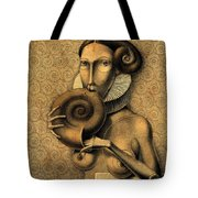 Shell Eater Tote Bag